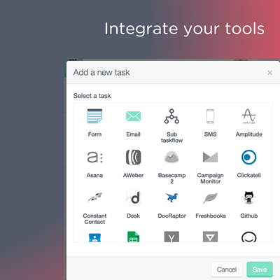 Integrate your tools
