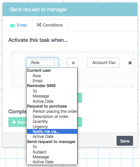 how to add tasks on side of email