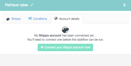 Connect your shippo account now