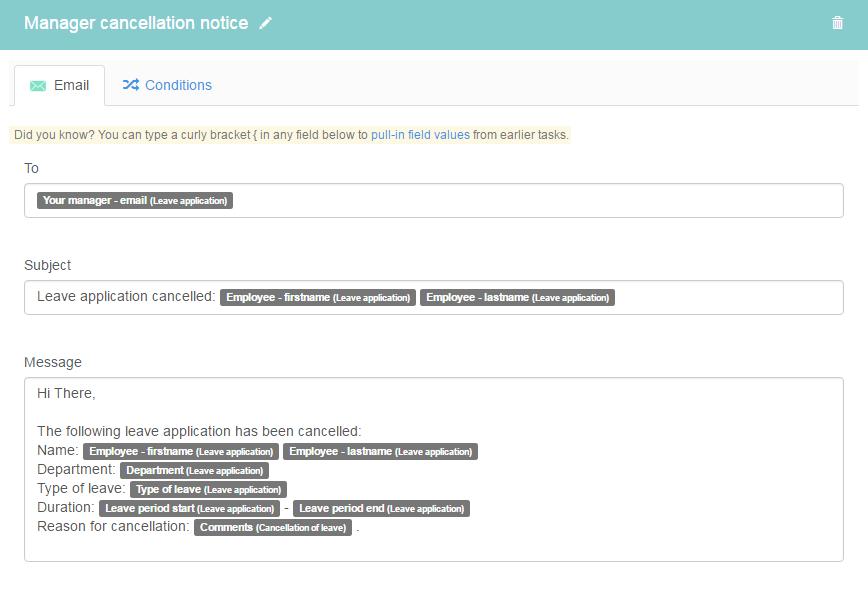 Request for leave taskflow   Kotive